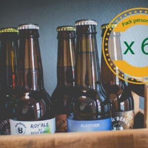 Pack 6 bières (33cl)